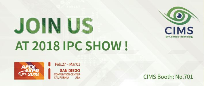 Visit us in IPC show 2018