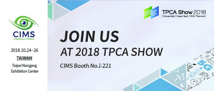 Visit us in TPCA show 2018